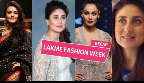 Kareena, Bipasha, Preity, Sonakshi, here is what went down at Lakme Fashion Week