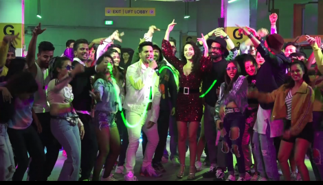 Varun Dhawan and Nora Fatehi launch their song 'Garmi' and have already made it a hit among the fans