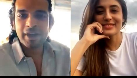 """I hope you are safe wherever you are!"" EXES Karan Kundrra & Kritika Kamra reunite for a fun video chat"