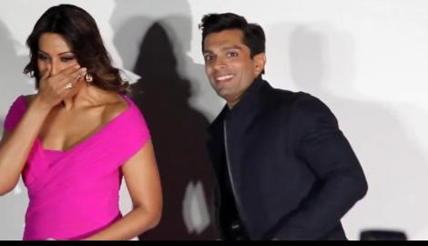 karan singh grover, bipasha basu, alone movie, alone music launch
